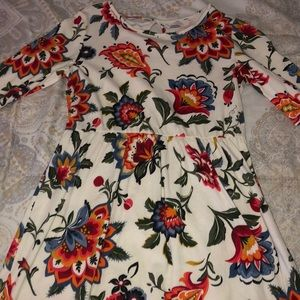 Children's Floral Dress